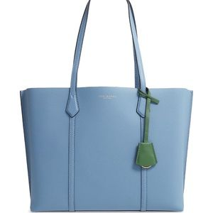 Perry Leather Tote Tory Burch